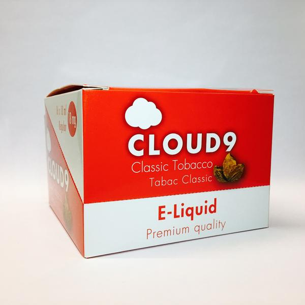 Cloud9 Classic Tobacco Eliquid